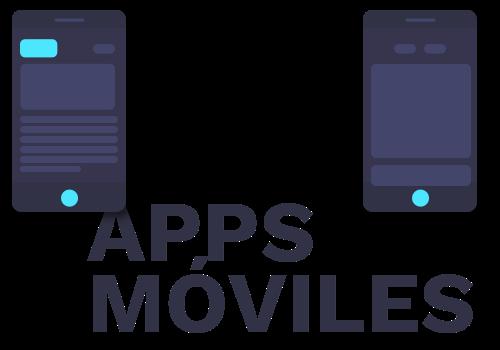 Icono esquemático de una pantalla de app móvil